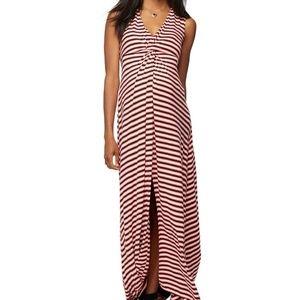 NWT Rachel Zoe Knit Maternity Maxi Dress Medium